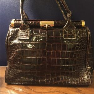 Handbags - Faux patent leather purse from Italy